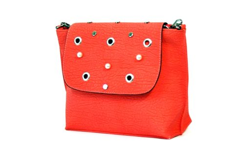 Pomarańczowa torebka raportówka