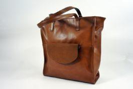 Duża torba skórzana shopper 069