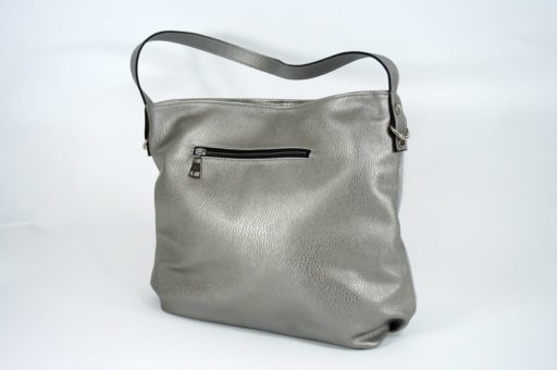 Srebrna torebki damska
