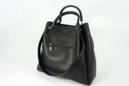 Duża czarna torba 014
