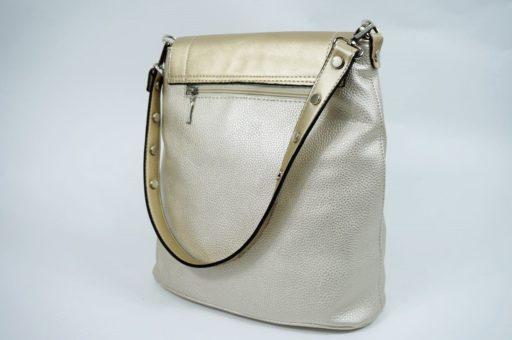 Złoty torebka listonoszka